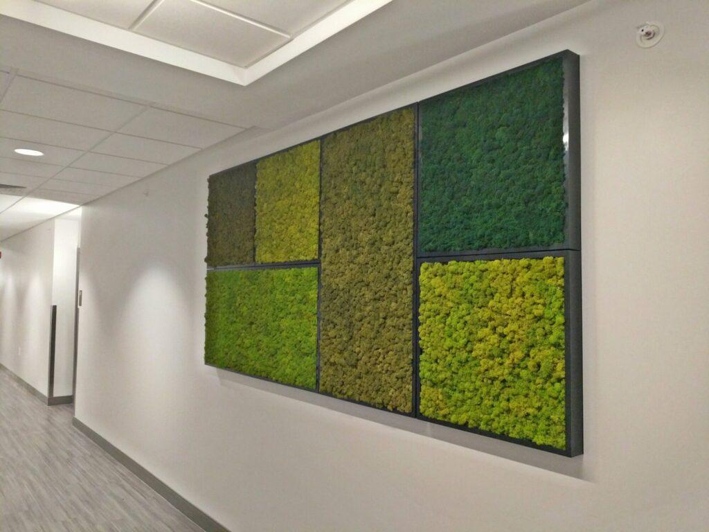 Moss Walls Panel Installation